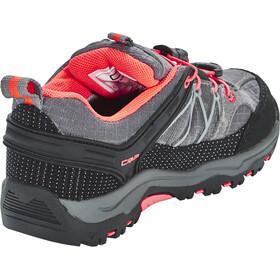 CMP Campagnolo Rigel Low WP Trekking Schoenen Kinderen, grey-red fluo